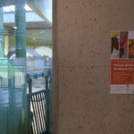 Elefantenhaus-Oberstock: Entree zum Ausstellungsraum