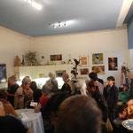 Besucherandrang bei der Ausstellungseröffnung