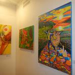 Bilder der beiden thailändischen Künstllerinnen
