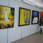 Rundgang durch die Ausstellung - Bilder von Heinz Strahl