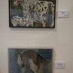 Meine Pastellpferdebilder: Mimikri (oben), Alter Adel