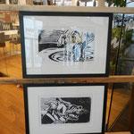 Neu im Vetart Kunstforum: Thomas Druml mit Holzschnitten