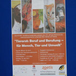 Plakat für die Vetart-Doppelausstellung