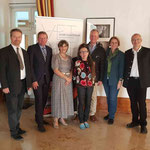 li-re: Karl Bauer, LR Gottfried Waldhäusl, Beatrix Leitold, S.Kölbl, Heinz Heistinger, Elisabeth Wagner, Pater Wagner