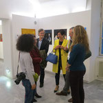 Smalltalk in der Galerie