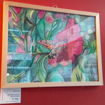 "Im Roten Salon: ""Macroglossum stellatarum"" v Sylvia Kölbl"
