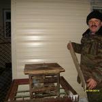 Нуриев Рафиз үзе ясаган станок белән