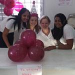 Lucy,Moira,Rahel,Mayra (das Werkstattteam)
