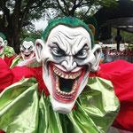 Gute Laune beim Karneval in La Vega