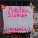 8.März: Internationaler Weltfrauentag wurde auch bei uns gefeiert..