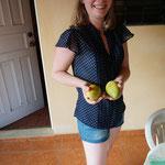 Die ersten selbstgepflückten Mangos