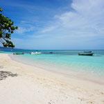 der Strand von Punta Rucia