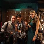 IBD(メンサ国際会議)in 京都。飲み会にてセルビア人メンサンと。