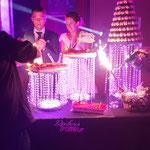 présentation de dessert pour mariage