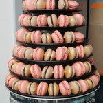 pyramide a macarons couleur pale
