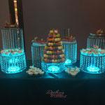 présentation de dessert pour mariage ou anniversaire