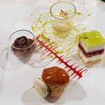 assiette gourmande 4 desserts