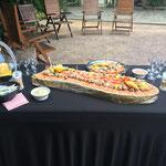 animation  bulots, crevettes, saumon fumé