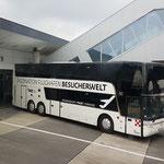 Die Busse der Flughafenrundfahrten