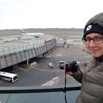 Voller Begeisterung warte ich auf das Lift off des Airbus A380 800