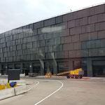Der neu Terminal des Flughafen Wiens