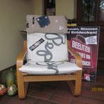 Erlebnisnacht 2013 | Jedes Geschäft sollte ein Stuhl gestalten.