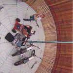 "Sommer 2009 | Wrangler präsentiert Mottoräder im ""Globe of Death""."