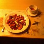 Gegrilde groentenreepjes - voorgerecht of snack