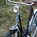 1934 Wanderer Continental Chrom-Ballon, Reifen von Continental