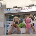 Curso basico de fotografia digital.  Tarragona, con Cori y Carmen.