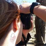 Ainhoa, una matemática excelente ademas de buena fotografa.  Curso Báscio de Fotografía. Foto: Andreu Gual