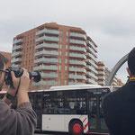 Curso basico de fotografia digital.  Tarragona, con Adan y David.