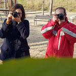 Curso basico de fotografia digital.  Tarragona, con Marina y Ricardo.