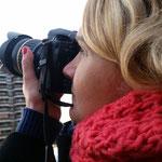 Olga, practiques diurnes del curs bàsic de Fotografía Digital. Fotografía Andreu Gual.