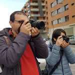 Curso basico de fotografia digital.  Tarragona, con Juan y Nuria.
