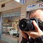 Curso basico de fotografia digital.  Tarragona, con Isaac.
