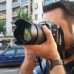 Ramon.  Practicas diurnas del curso básico de Fotografia Digital en Tarragona. Foto: Andreu Gual