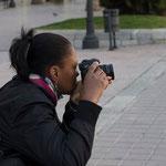 Marta, la perseverancia dara sus frutos... Curso basico de fotografia. Foto: Andreu Gual