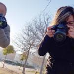 Curso basico de fotografia digital.  Tarragona, con Jordi y Angeles.
