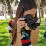 Curso basico de fotografia digital.  Tarragona, con Irene.