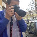 Curso basico de fotografia digital.  Tarragona, con Juan.