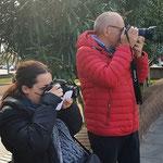 Curso basico de fotografia digital.  Tarragona, con Pili i Carles.