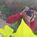 Itziar, durante las practicas diurnas del curso basico de Fotografia Digital, Tarragona. Fotografia: Andreu Gual