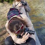 Curso basico de fotografia digital.  Tarragona, con Maria y Rocio.