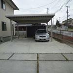 M宅コンクリート舗装工事