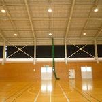 福島学園体育館ブレース柱脚修繕工事