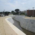 準用河川下の川河川改修工事