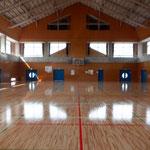 市民スポーツ会館床改修