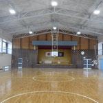 長沼小学校体育館耐震補強工事 内部写真