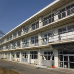 H28長沼小学校校舎耐震改修工事 外部1